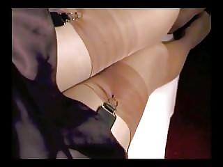 Retro lingerie fetish