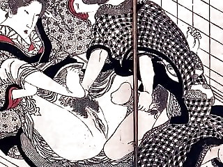 Classic naked japanese women having sex